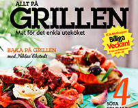 Recipe brochure for one of Swedens biggest food stores