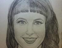 Potrait of Hayley Williams