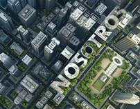City built in 3D / Ciudad en 3D