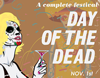 Day of the Dead - Poster for Living Arts