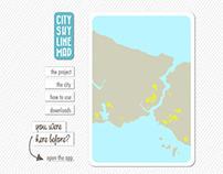 City Skyline Map