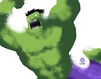Hulk Minimalist poster