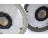 FILIPPO concrete|speaker|lamp