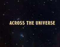 Across the Universe title sequence