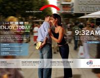Concept: Citibank - Enjoy Today
