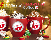 Seattle's Best Coffee Ad (in different types of Ads)