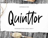 Quinttor Sans Serif Font