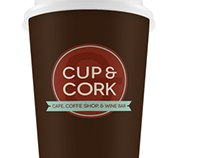 Cup & Cork Brand Redesign