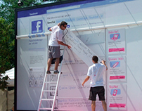T-Mobile Facebook on the streets