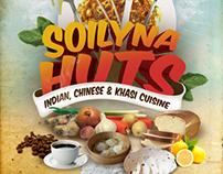 Soilyna Huts Menu Design