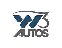 Criação de Identidade Corporativa - W3 Autos - 3 Lagoas