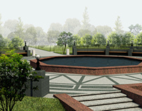 Reconstruction of the park in Kiev