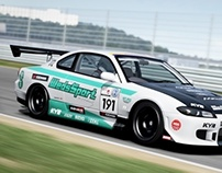 WedsSport with EE and Mine's Nissan Silvia S15 Concept