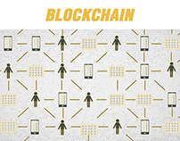 Graphic style for Blockchain
