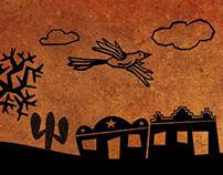 Animação para Pixit/Alpargatas - ilustrações