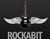 """RockABit"" Band Logo"