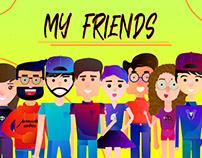 MY FRIENDS / ILUSTRACION