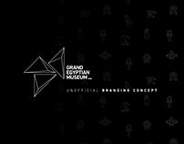 GRAND EGYPTIAN MUSEUM Branding Concept