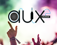 AUX Lounge Logotype
