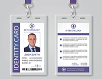ID Card Psd Template