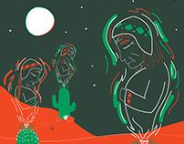 Pachamama - Ilustracion Roldan