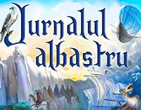 Jurnalul Albastru - YA fantasy book cover