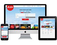 AirAsia UX UI Flight booking