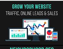 Media Online Infographic