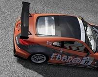 EBBRO Nissan 350Z Super Taikyu Concept Livery