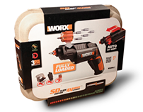 Worx SD packaging