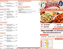 Mount Vernon Pizzeria Menu