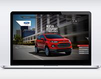 Minisite Nueva Ecosport Ford