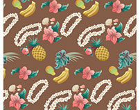 Hawaiian Lei pattern