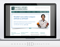 Daniel Stern & Associates - Website Redesign