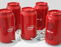 Lata de som Coke/Intel