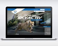 Skyactiv minisite Mazda