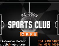 SportsClub Cafe RE-branding