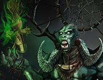 Orc Shaman - test D&D