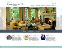 Langeneckert Homes website