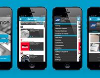 Behance IOS Application Interface Concept