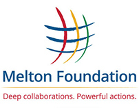 Melton Foundation Logo, Marketing Materials, & Website