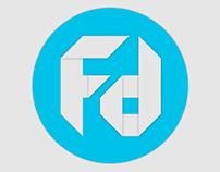 Foldesk // Logo Design