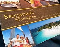Spectacular Escapes - Folder and Marketing Materials