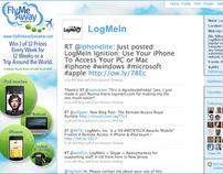 LogMeIn - FlyMeAway Giveaway - Twitter