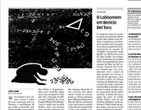Ilustração de Jornal