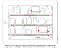 UX Wireframes: Grocery Sales