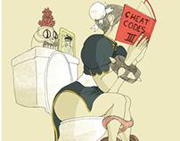 Chun li likes cheats.