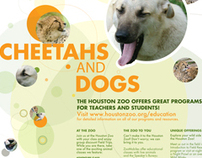Houston Zoo Education Poster 2009