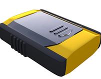 Case para circuito transmissor para controle remoto
