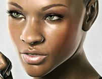 Rated R: Rihanna 3D Art